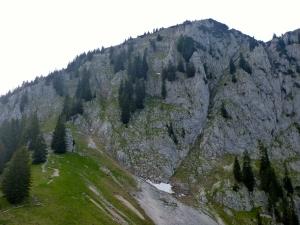 Benediktenwand Westseite