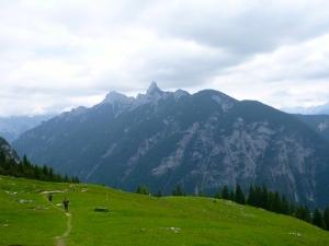 Downhill Scharnitzjoch