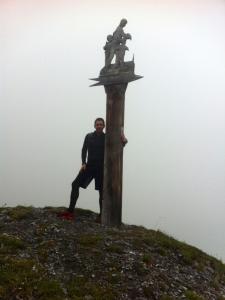 Auf dem Weg zum Strela Pass