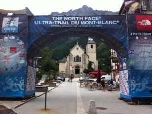 Chamonix Start und Ziel
