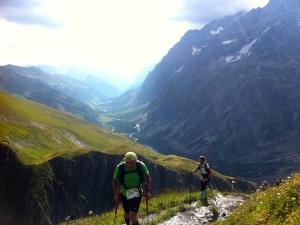 Das Aostatal liegt hinter mir