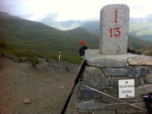 Grand Col Ferret 2537 Meter