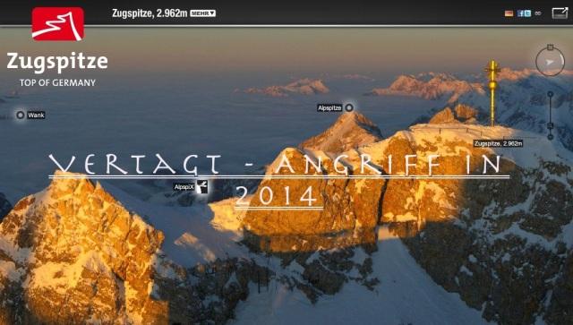 Projekt Zugspitze 2014