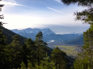 Aufstieg in Richtung Esterbergalm